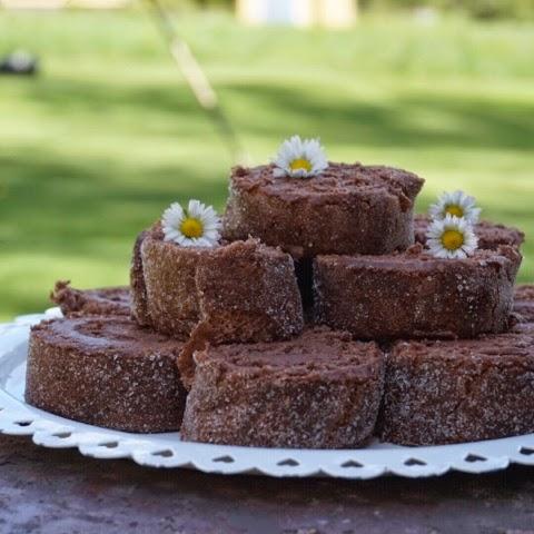 chokladrulltårta med nutella