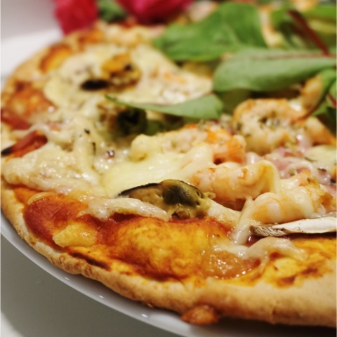 dubbel botten pizza